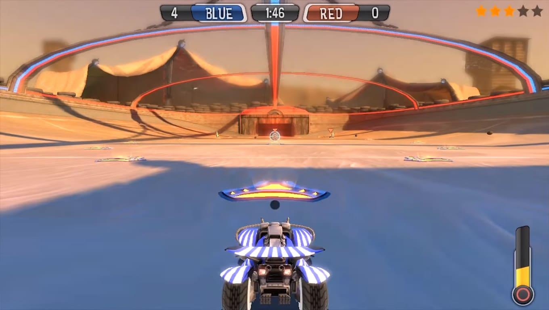 Обзор игры Supersonic Acrobatic Rocket-Powered Battle-Cars