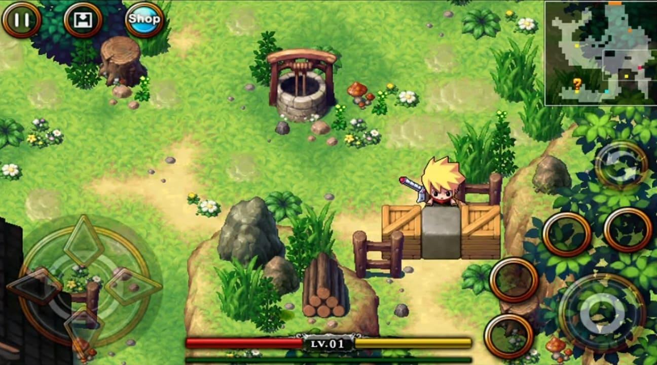 Обзор игры Zenonia 4