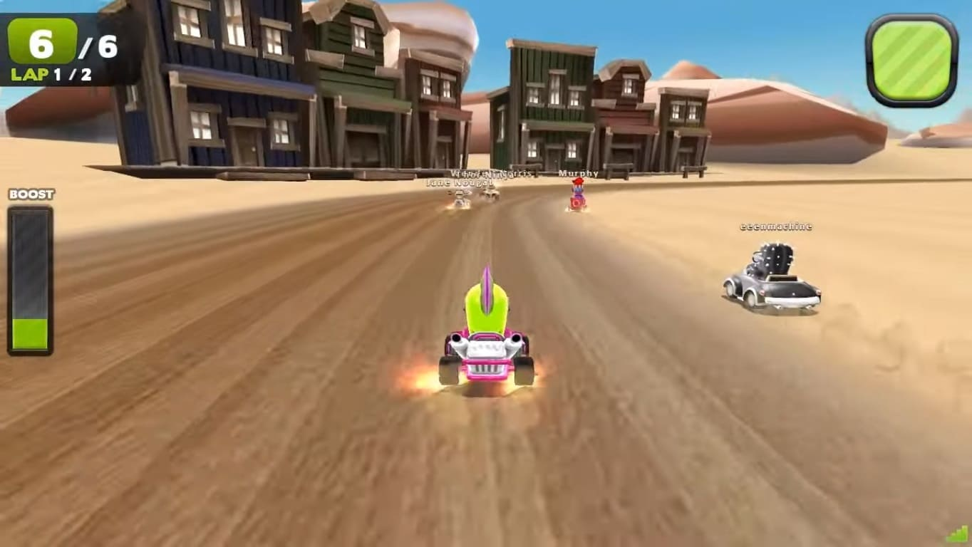 Обзор игры Zero Gear
