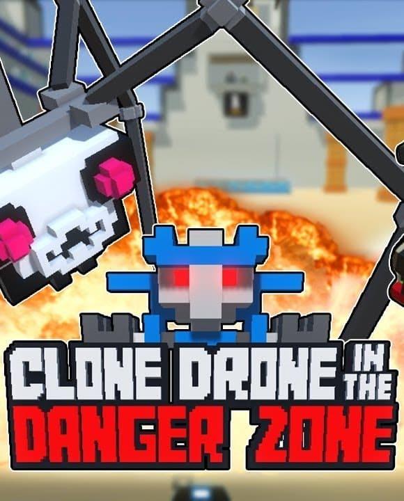 Обзор игры Clone Drone in the Danger Zone