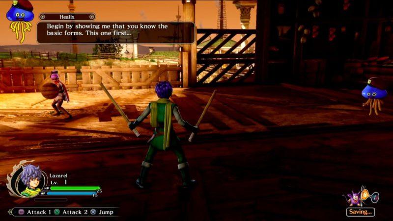 Обзор игры Dragon Quest Heroes II