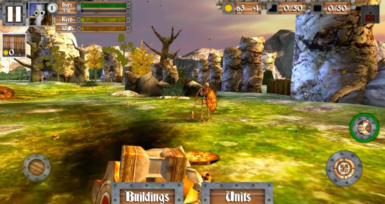 Обзор игры Heroes and Castles