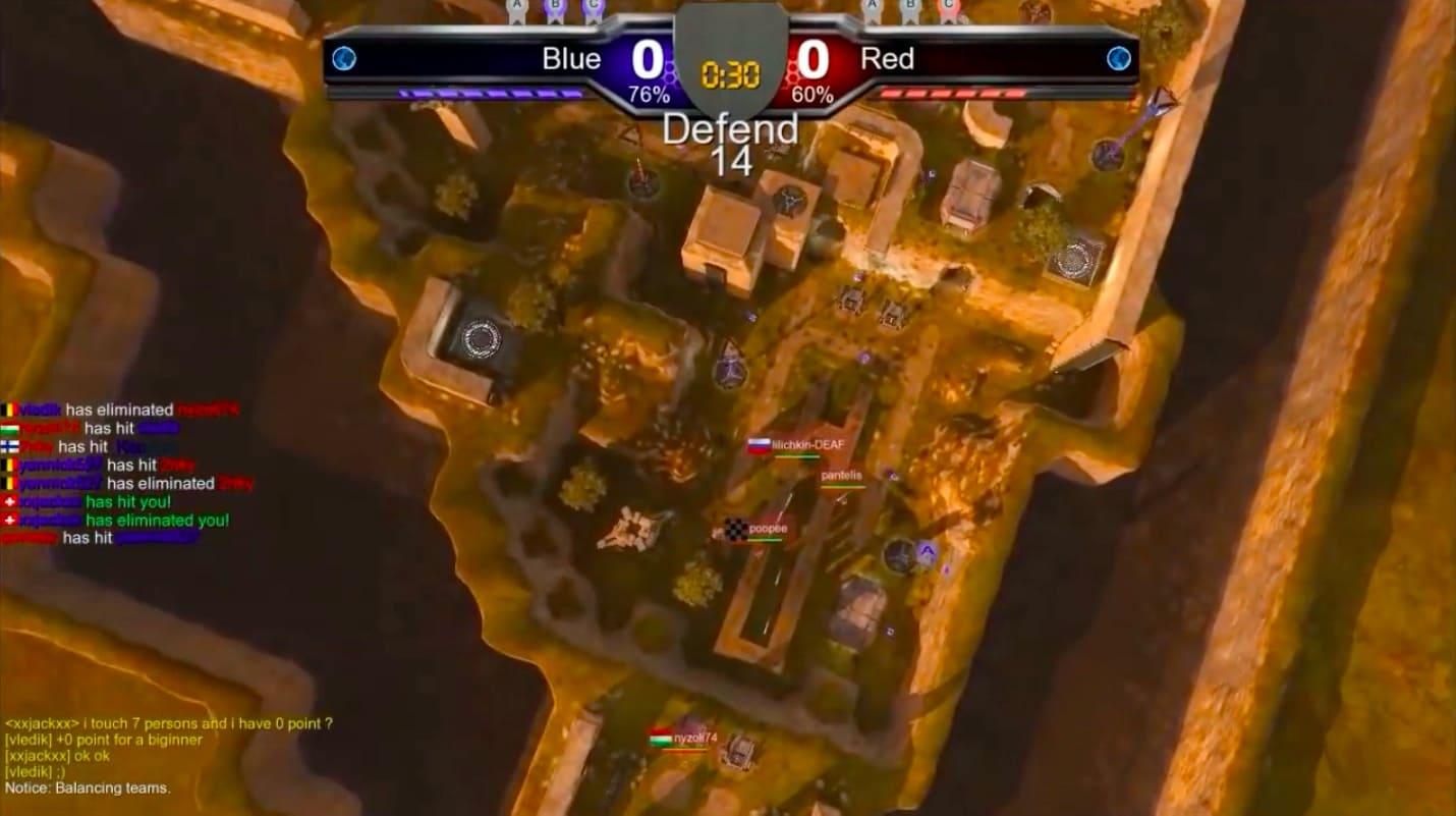 Обзор игры ShootMania: Storm