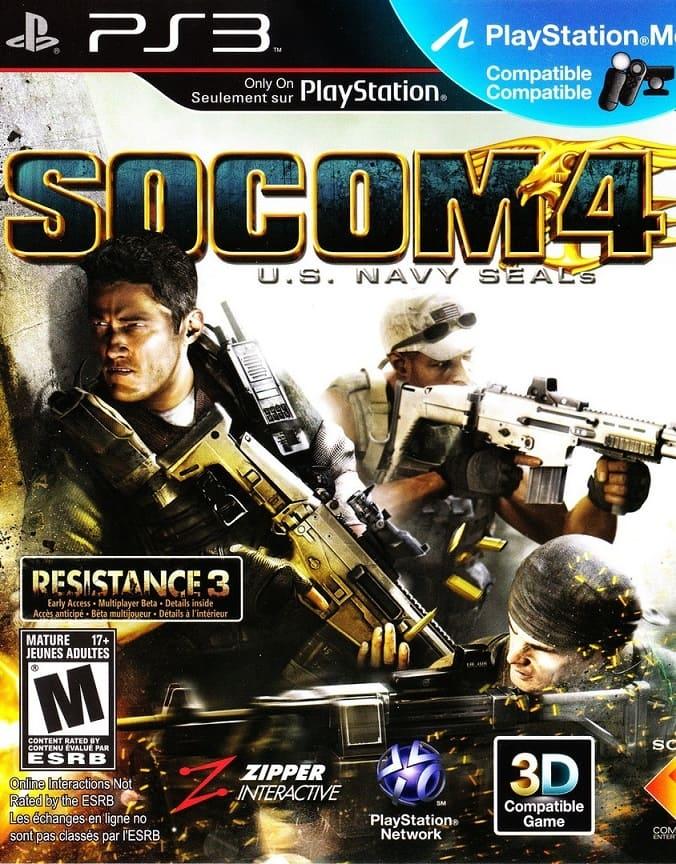 Обзор игры Socom 4: U.S. Navy Seals