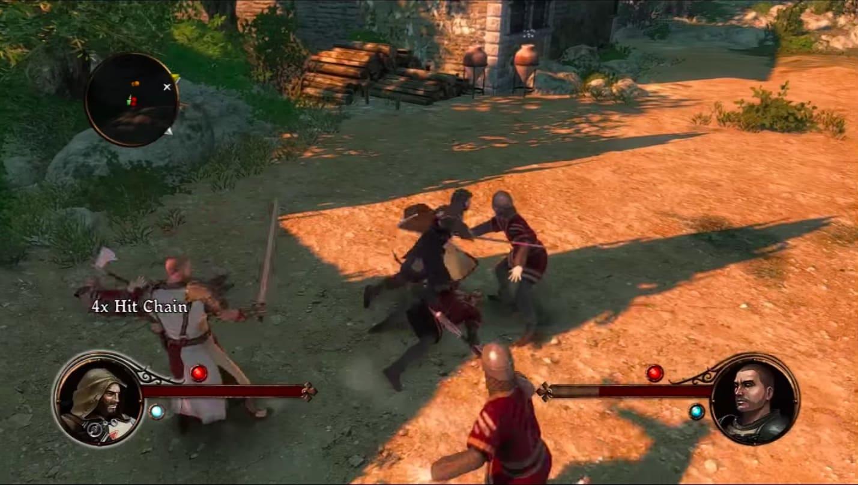 Обзор игры The First Templar