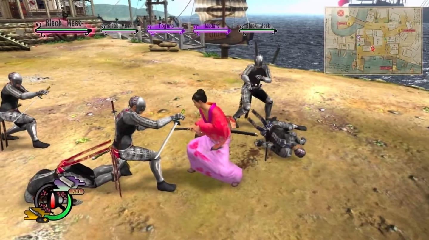 Обзор игры Way of the Samurai 4