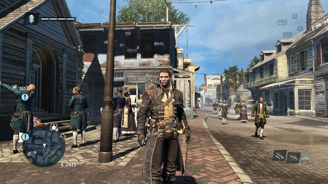 Обзор игры Assassin's Creed: Rogue